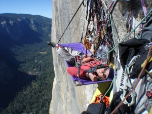Скалолазы в Йосемити