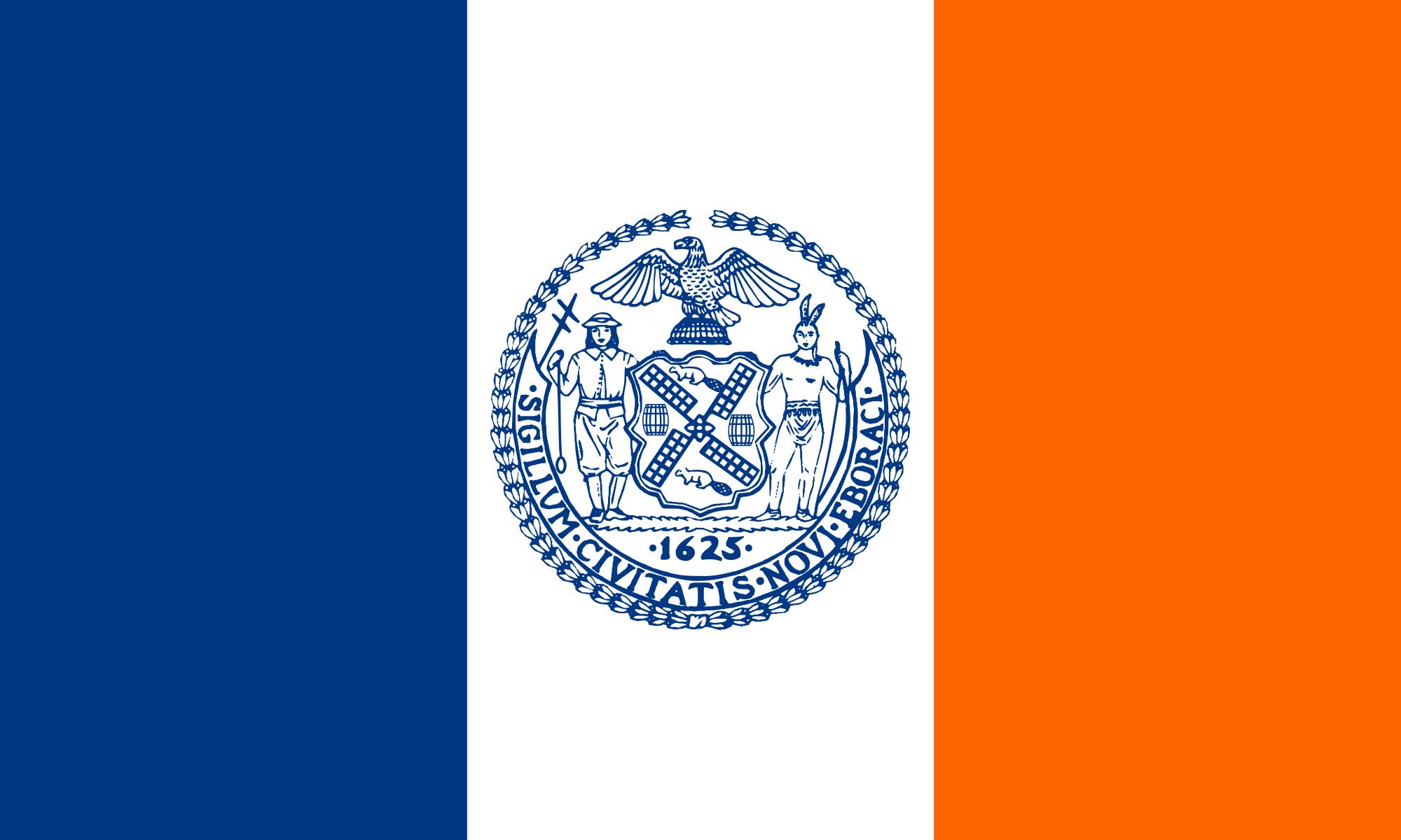 фото нью-йорка флаг