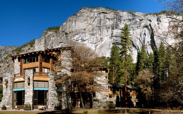 Отель в Йосемити
