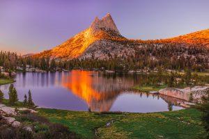 Закат в Йосемити