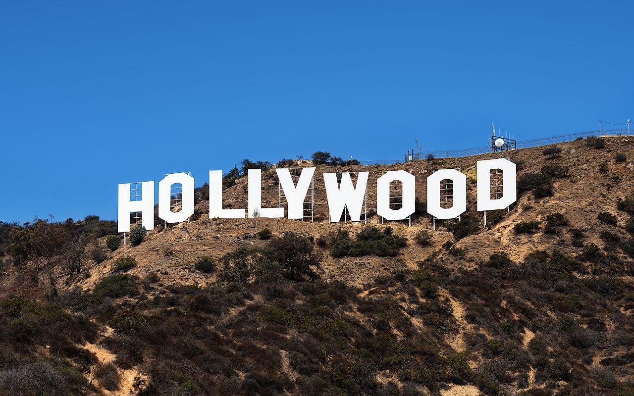 Надпись HOLLYWOOD, Лос-Анджелес