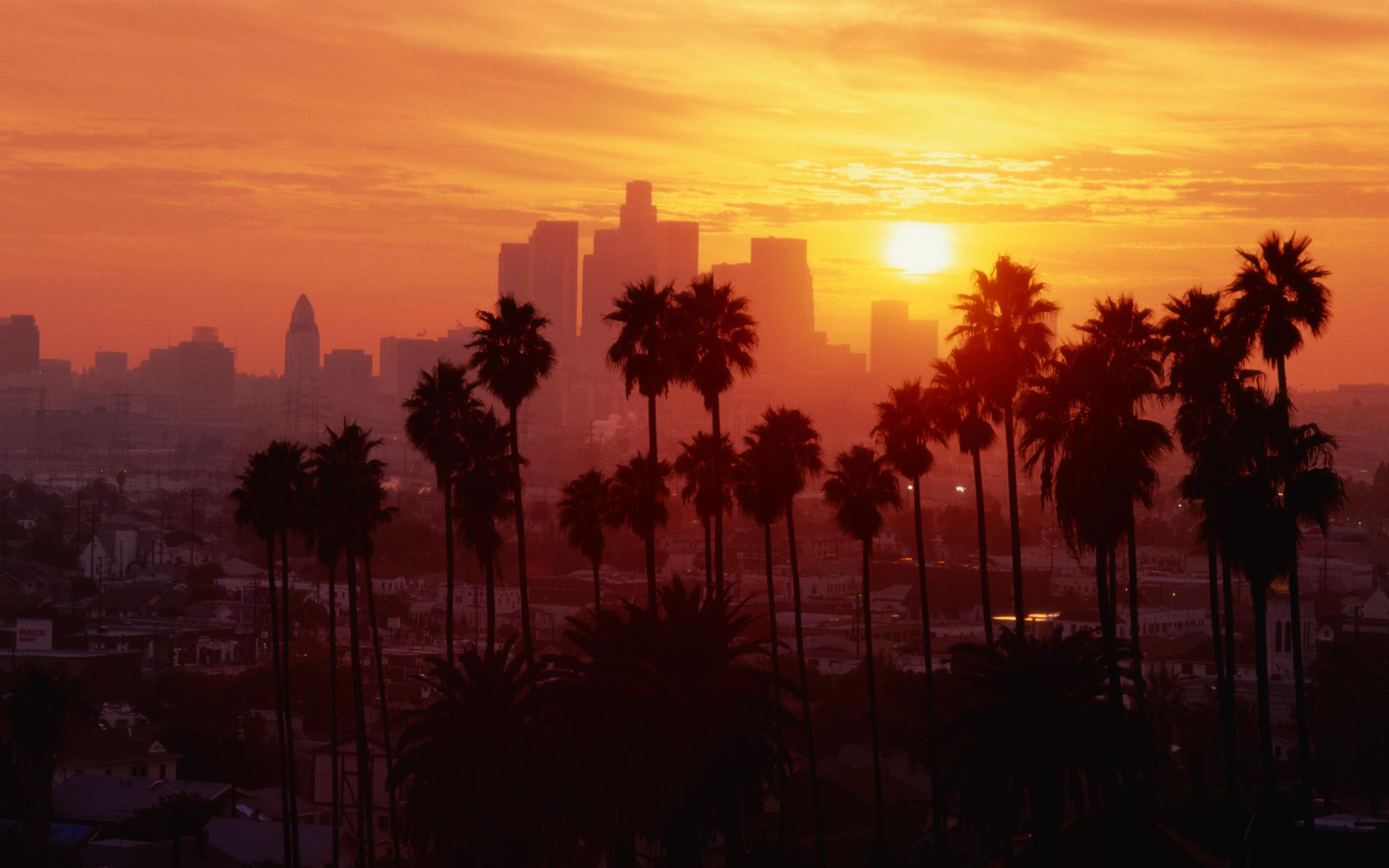 Вид на Лос Анджелес