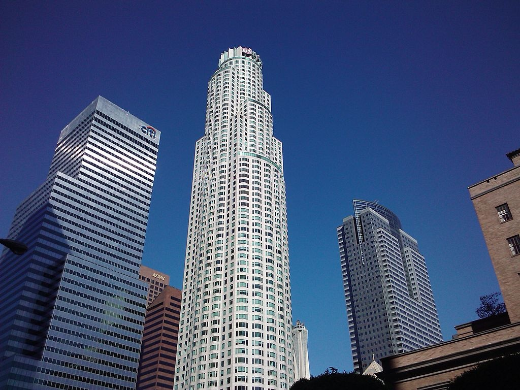 Самый высокий небоскреб в Лос-Анджелесе