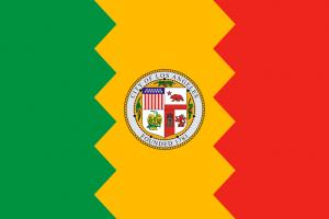 Флаг Лос-Анджелеса