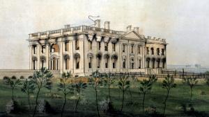 Белый дом после пожара 1814 года