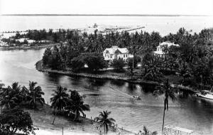 Устье реки Майами в 1935 году