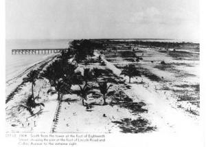 Майами-Бич в 1914 году