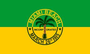 Флаг Майами-Бич