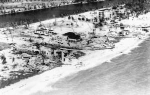 Майами-Бич после урагана 1926 года